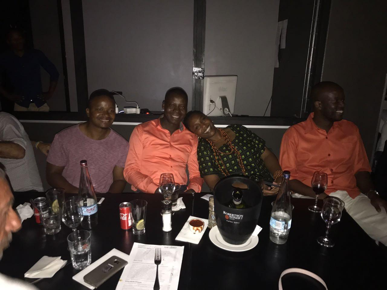 Joburg Fellows enjoy a jazz night out at The Orbit