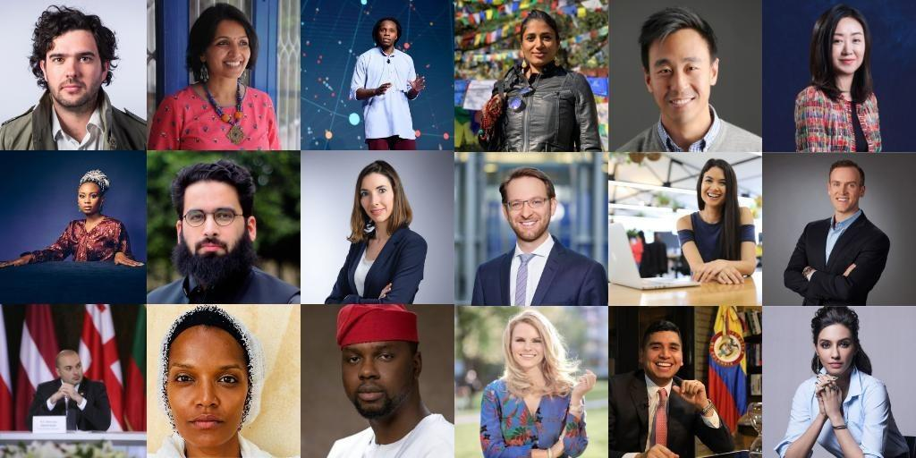2018 Fellow named a Young Global Leader by the World Economic Forum