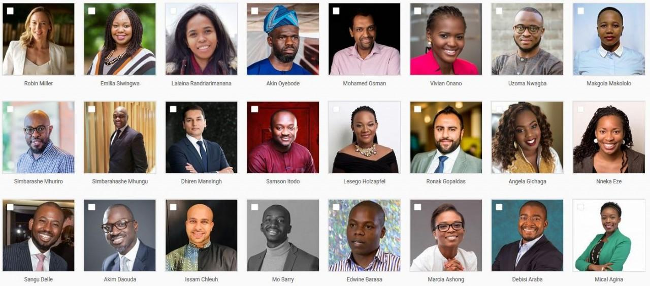 Introducing the 2019 Tutu Leadership Programme cohort