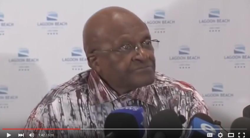 Archbishop Tutu tells ANC government to 'Watch out'.