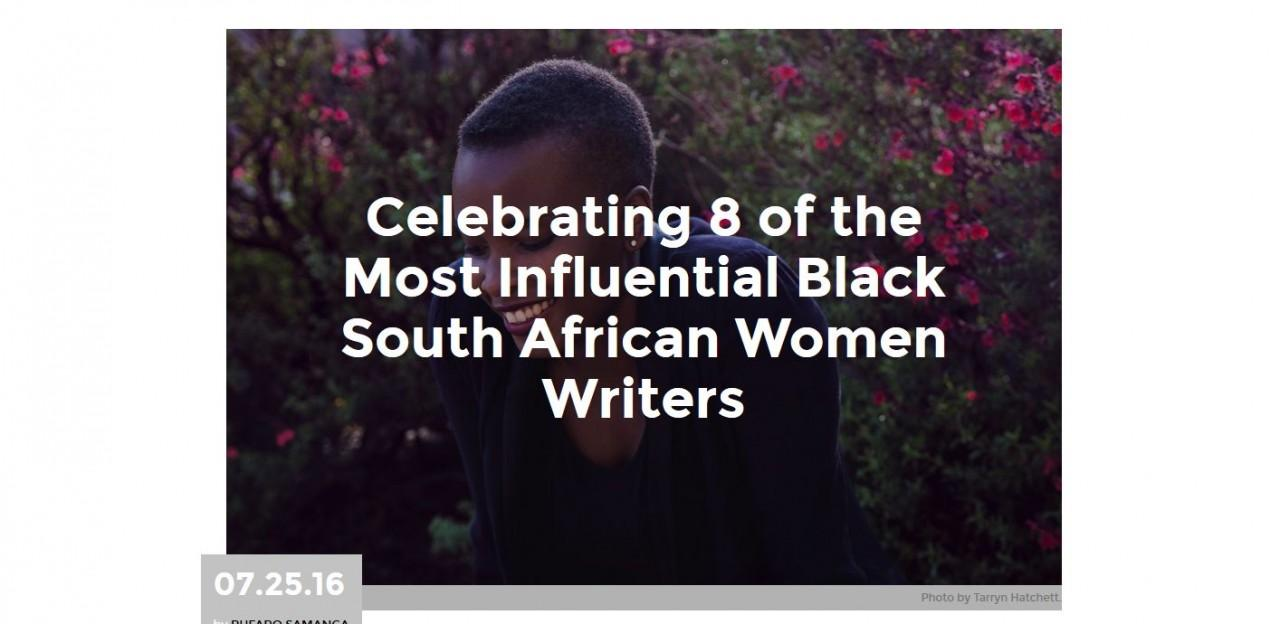 Fellow one of 8 most influential black women writers