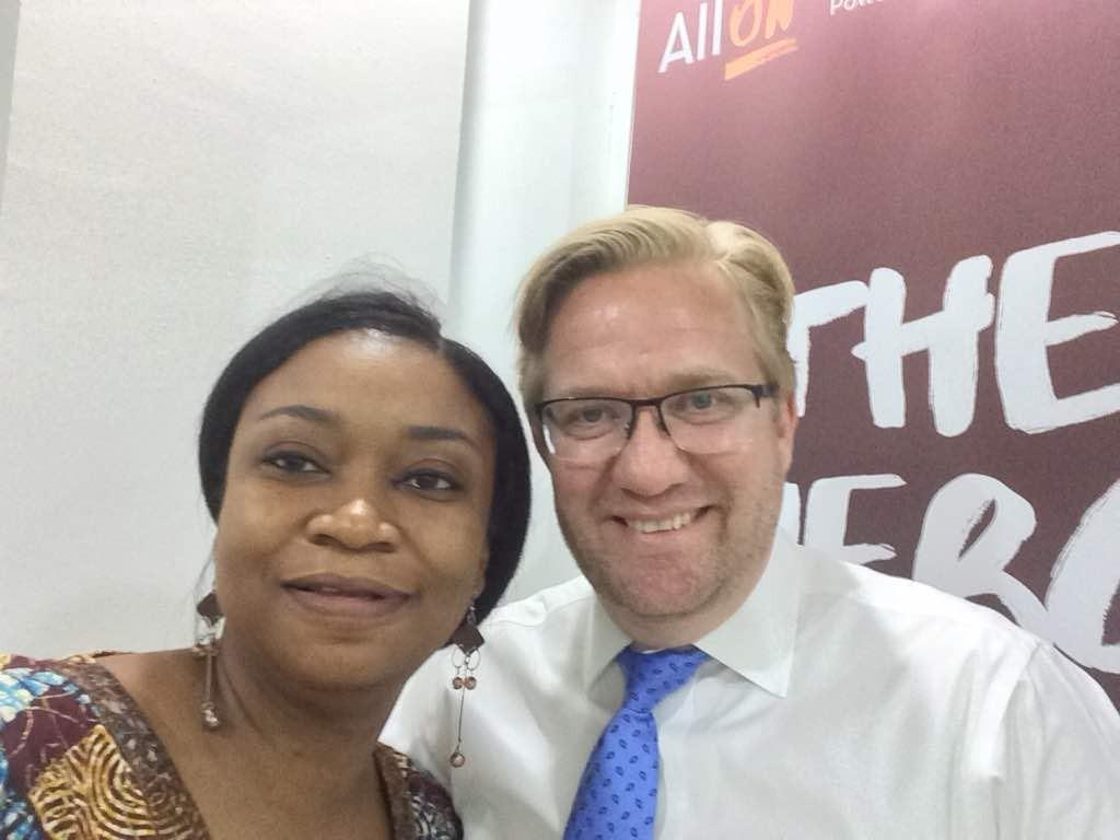 Ifeoma Malo and Wiebe Boer